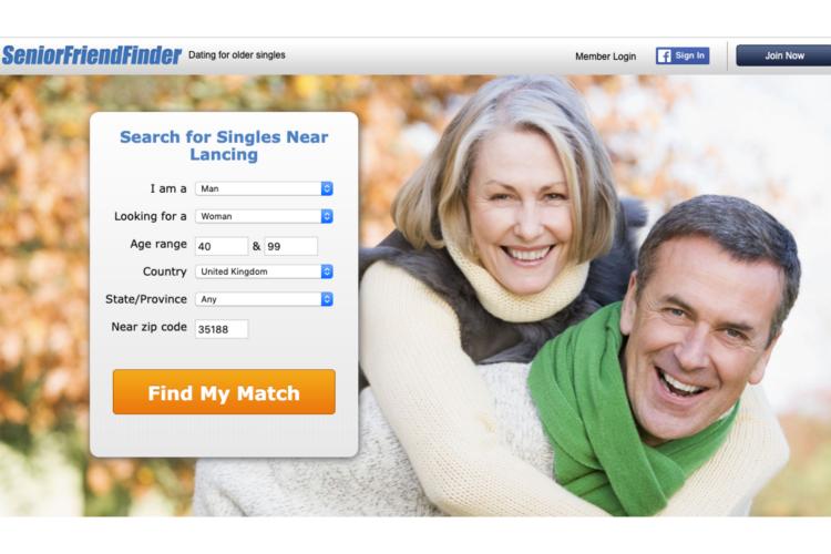 The Senior Friend Finder Website